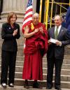 Maura Moynihan, HH Dalai Lama, Mayor Mike Bloomberg